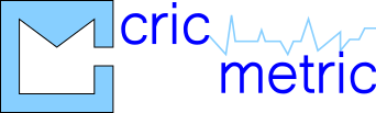 Cricmetric Logo